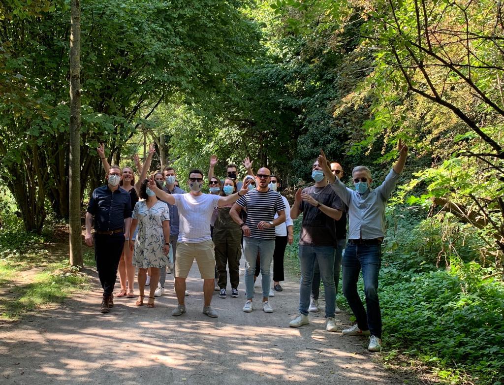 équipe cohésion nature