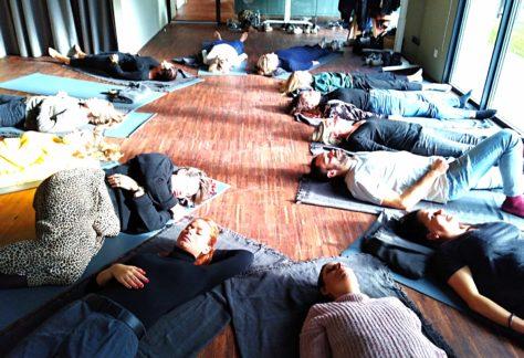 Atelier yoga soleil