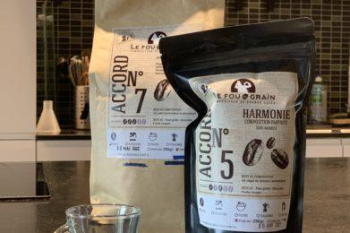Café en grain et en varc
