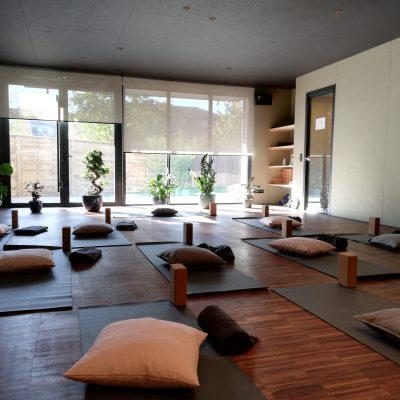 Salle de Yoga équipée