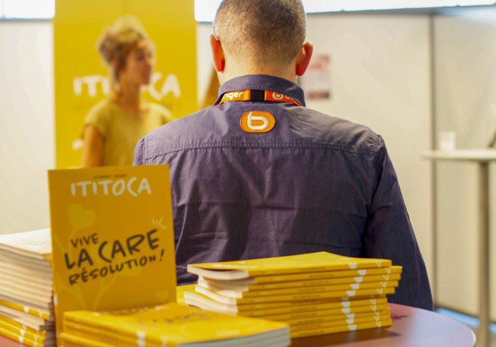 Ateliers de Sensibilisation au Care pour 800 vendeurs pendant le salon de la formation Boulanger